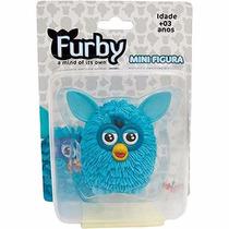 Miniatura Boneco Furby Original Licenciado Hasbro Azul
