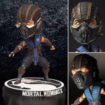 Boneco Subzero Mortal Kombat X - Bobble Head - Mezco