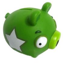 Angry Birds Cofre - Piggy Bank - Cofrinho - Porquinho Verde