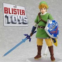 Boneco Link Figma Legend Of Zelda Max Factory Pronta Entrega