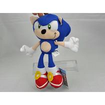 Sonic De Pelucia 18cm - Game - Sega