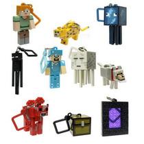 Kit 10 Peças Chaveiros Minecraft Hangers Séries 2