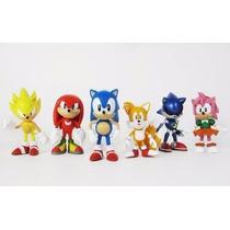 Boneco Sonic Tails Amy Knuckle Classic Sega Original Lacrado