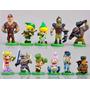 Coleção Legend Of Zelda 11 Miniaturas Link - 3cm A 5cm