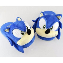 Pantufa Sonic The Hedgehog Sega Pelúcia Geek ~ Suika Games