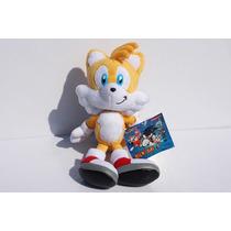Pelucia Sonic The Hedgehog Tails 23cm