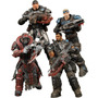 Gears Of War Player Select - Pack Com Quatro Figuras Neca
