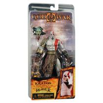 Boneco Kratos With Medusa Head God Of War - Original Neca