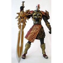God Of War Kratos Armadura De Ares 19cm Orig. Pronta Entrega
