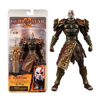 Boneco Kratos God Of War Ares Armor Blades Original Neca