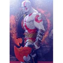 Boneco Kratos God Of War 21cm