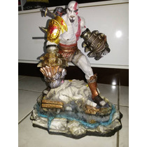 Estátua Exclusiva Kratos - God Of War 3 - 12x S/ Juros