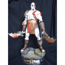 Kratos Estatua Resina God Of War Ps3