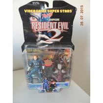 Resident Evil 2 - Leon Kennedy E Licker - Ed. 1998 - Toy Biz