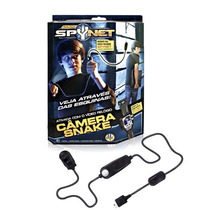 Câmera Snake P/ Video Relógio Spynet Espião Detetive Jogo