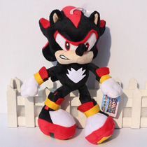 Sonic The Hedgehog Black Shadow De Pelúcia Unid Frete Grátis