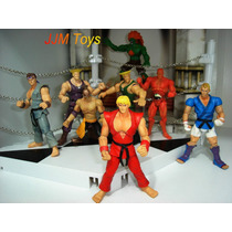 Street Fighter Ken Ryu Blanka Guile El Fuerte Seth Capcom
