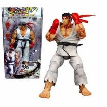 Boneco Miniatura - Kyu - Street Fighter Iv - Neca Toys 18 Cm