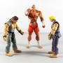 Capcom Street Fighter Set 3 Bonecos: Ryu Ken Sagat