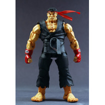 Boneco Street Fighter Ryu 18 Cm Action Figure Neca Black