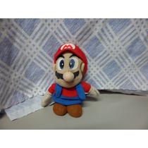 Pelucia Super Mario Usado 15 Cm De Altura