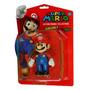 Boneco Super Mario Bros 12cm Game Nintendo Luigi Toad Ps3