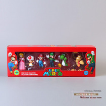 Kit Bonecos Mario Luigi Donkey Kong Toad Yoshi Pronta Entreg