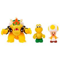 Mario Bros Micro Land - Bowser + Koopa Troopa + Toad