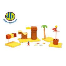 Brinquedo Micro Land - Super Mario Deluxe Nintendo Dtc