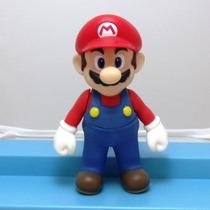 Boneco Super Mario Articulados Turma Do Mario Action Mario