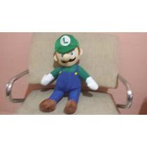 Boneco Pelúcia Luigi Super Mario Bros