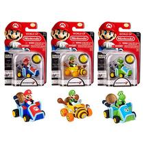 Bonecos World Of Nintendo Mário Kart Coin Racers