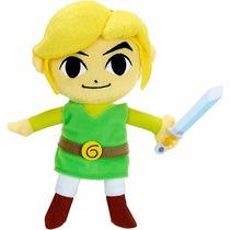 Link Pelúcia Miniatura World Of Nintendo Legend Of Zelda