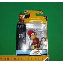 Diddy Kong - World Of Nintendo Boneco Miniatura Donkey