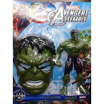 Hulk + Máscara Kit Em Blister - Vingadores