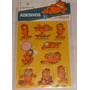 Garfield Cartela De Adesivos1 Intacta Hallmark Anos 90 S/uso