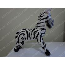 Pelúcia Marty Zebra 30cm Madagascar Original Dreamworks Novo