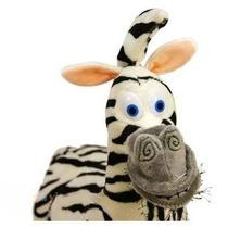 Zebra Madagascar Marty Pelúcia Raro Importado Madagaskar