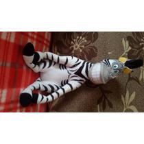 Zebra Marty Sentada Madagascar Grande Nova Pelúcia Disney