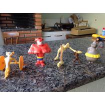 Bonecos Madagascar Circo - Coleção Mcdonalds