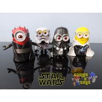 Minions Coleção Star Wars - Darth Vader Tenho Mc Donalds