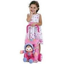 Mala Mochila Bag Shopping+boneca Turma Da Mônica Multibrink