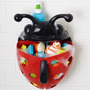 Porta Brinquedo Para Banho Bug Pod Joaninha - Girotondo