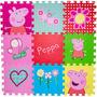 Tapete Eva Infantil Peppa Pig Antiderrapante Atóxico