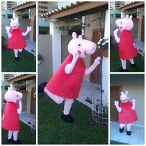 Peppa Pig ! Personagem Vivo/ Mascote