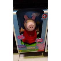 Boneca Peppa Pig Pelúcia Musical - Estrela Toca Tema Desenho