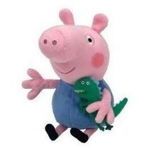 Pelucia George Pig Da Peppa Pig Musical 35cm Pronta Entrega!