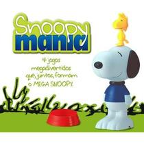 Mega Snoopy E Woodstock - Coleçao Do Mc Donalds 2004