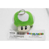 Chaveiro Pelúcia Toad Cogumelo Mushroom - Super Mario Bros