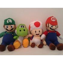 Boneco Pelúcia Turma Do Super Mario Bros #ksoo